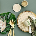 Bloomingville Bloomingville cutlery gold set from 4
