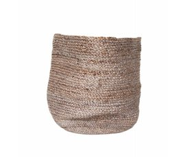 Urban Nature Culture Amsterdam Urban Nature Culture jute basket Large cinder