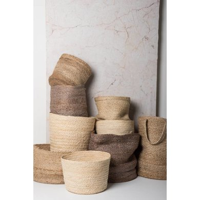 Urban Nature Culture Amsterdam Urban Nature Culture jute basket Large