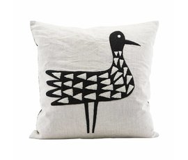 House Doctor House Doctor pillowcase Bird 50x50