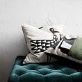 House Doctor House Doctor pillowcase Bird 50x50