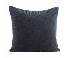 House Doctor House Doctor Cushion velvet blue petrol 50 x 50