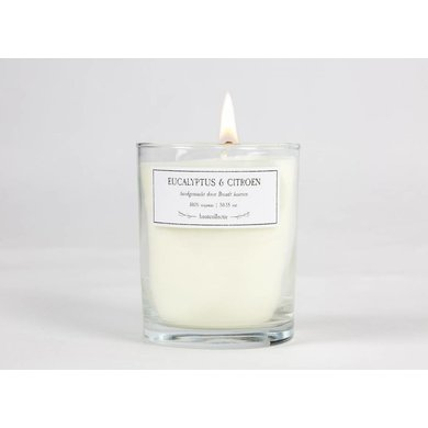 Burns candles Eucalyptus & Lemon