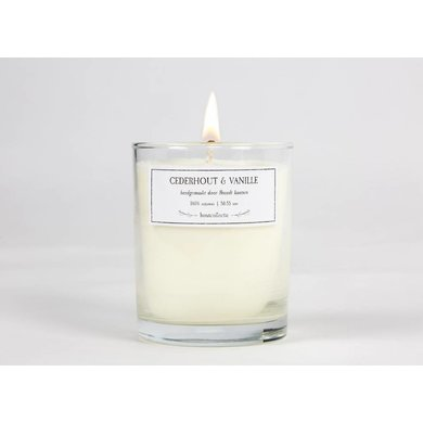 Brandt candles Cedar Wood & Vanilla