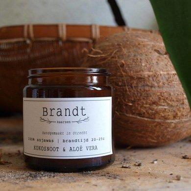 Brandt candles Coconut & Aloe Vera