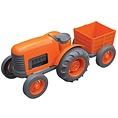 Greentoys Orange Tractor Greentoys