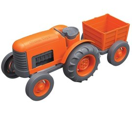 Greentoys Orange tractor