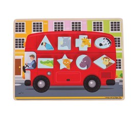 Greentoys Puzzel bus