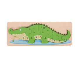 Greentoys Puzzle crocodile