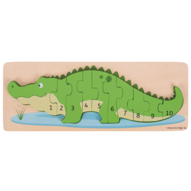 Greentoys Puzzle crocodile