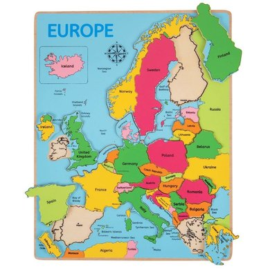 Greentoys Puzzle Europe
