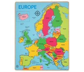 Greentoys Puzzel Europa