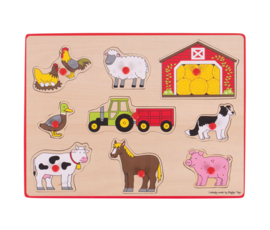 Greentoys Puzzle farm