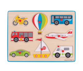 Greentoys Puzzel transport