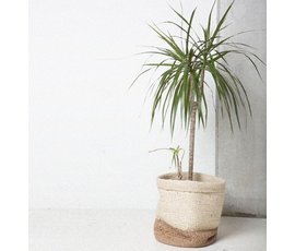 Urban Nature Culture Amsterdam Urban Nature Culture burlap basket white