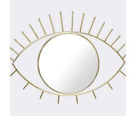 "Doiy Wall mirror ""Cycloop"" L gold"