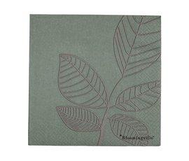Bloomingville Bloomingville napkins green leaf