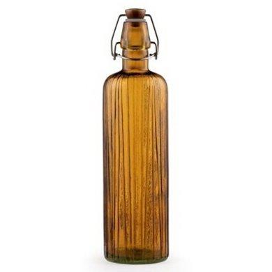 BITZ Bitz swing-top bottle amber 0.75cl