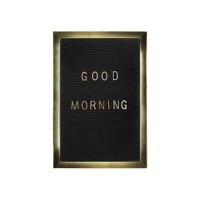 Gusta Gusta letter plate velvet