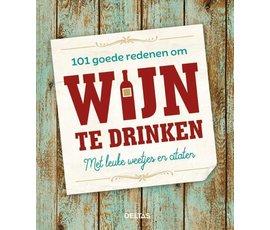 Deltas 101 good reasons to drink wine