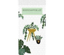 Boodschappenlijst Houseplants