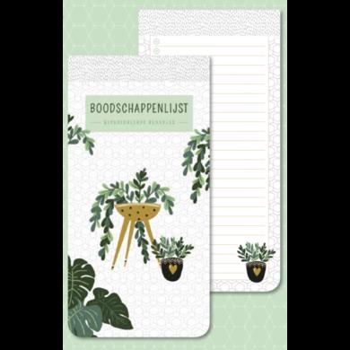Shopping list Houseplants