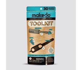Thuisrecycling Makedo toolkit
