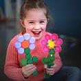 Thuisrecycling Clip-it | 50 clips bloem