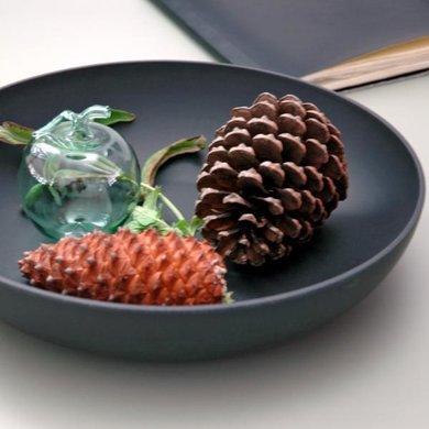 Zuperzozial Bamboe bowl tutti frutti  zwart