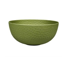 Zuperzozial Bamboe large bowl Hammered moss green
