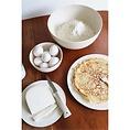 Zuperzozial Bamboe large bowl hammered coconut white