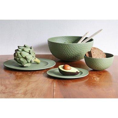 Zuperzozial Bamboe medium bowl Hammered moss green