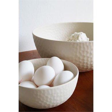 Zuperzozial Bamboe medium bowl coconut white