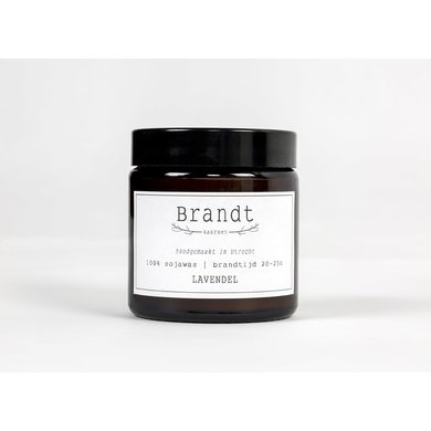 Brandt kaarsen Burning candles Lavender