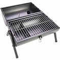 Gusta Gusta Barbecue and smoker 2-in-1 zwart