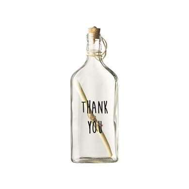 Gusta Bottle mail thank you