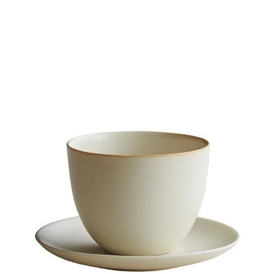 Kinto Kinto cup and saucer Pebble cream