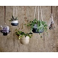 Bloomingville Hang flowerpot glass