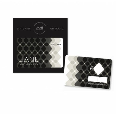 Jane and Fred.com Giftcard Jane and Fred