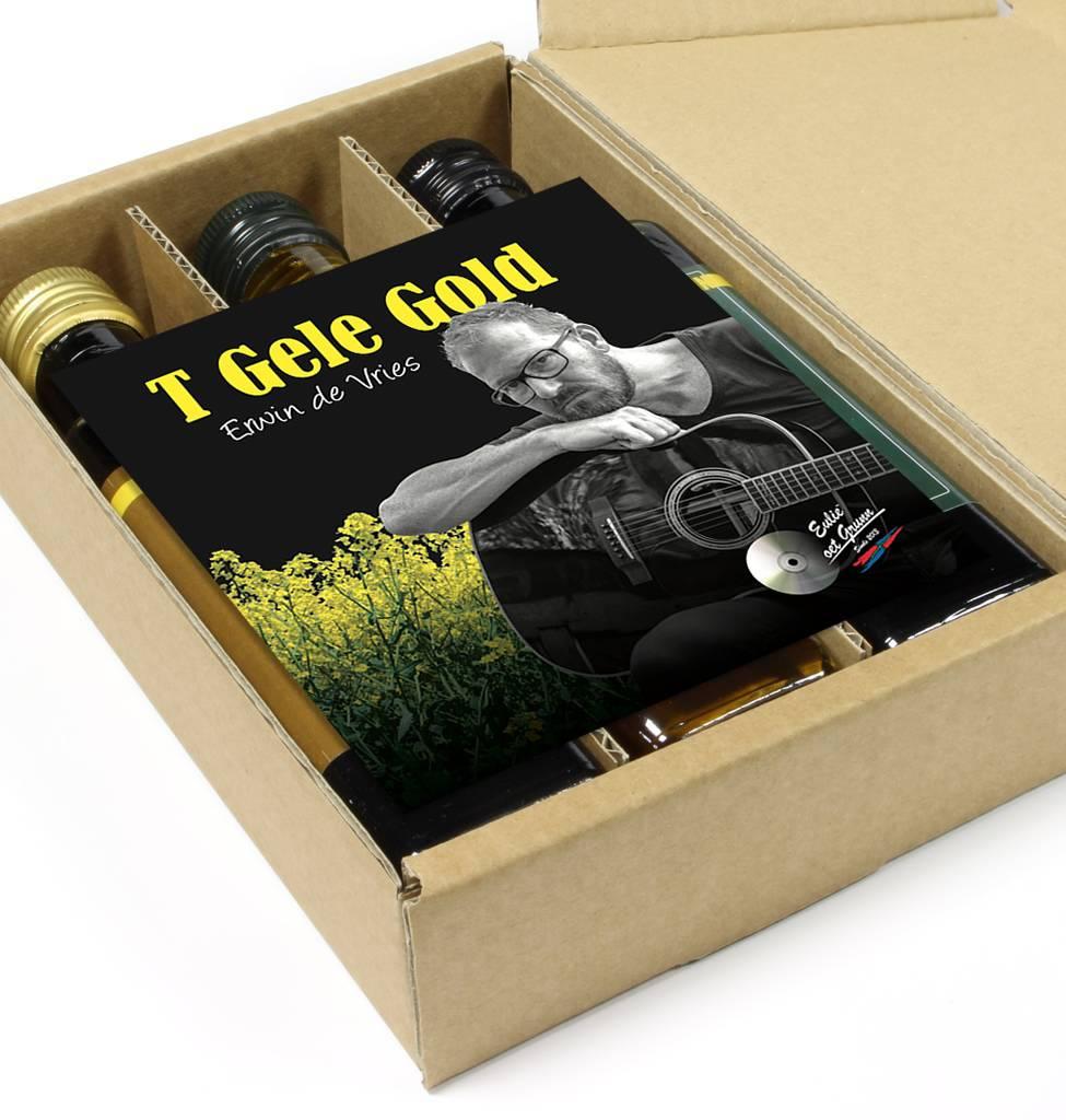 Eulie oet Grunn CD-single  Erwin de Vries + Eulie oet Grunn geschenkverpakking 3 pack