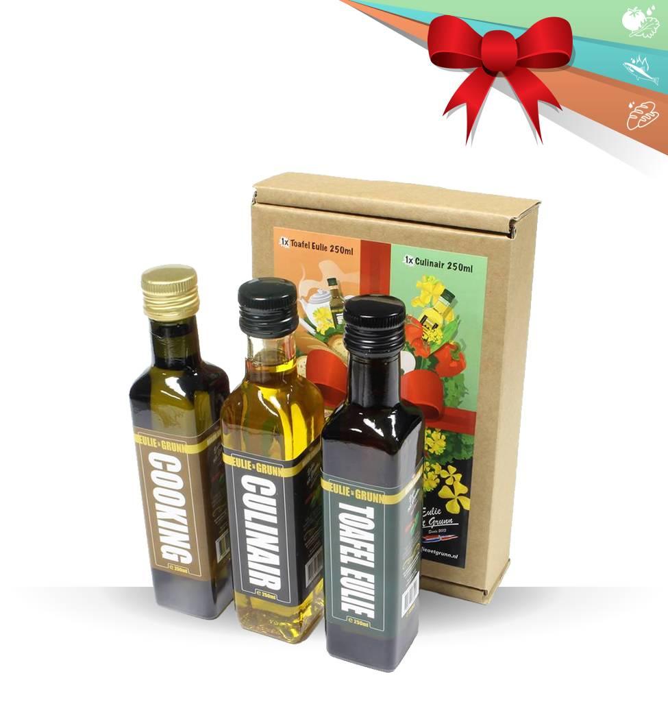 Eulie oet Grunn Eulie oet Grunn geschenkverpakking 3 pack