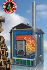 Outdoor Boilers of Europe Classic CLE 7260 | Antraciet | dual fuel ready
