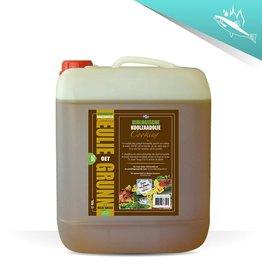 Eulie oet Grunn Biologische Cooking koolzaadolie 10 liter