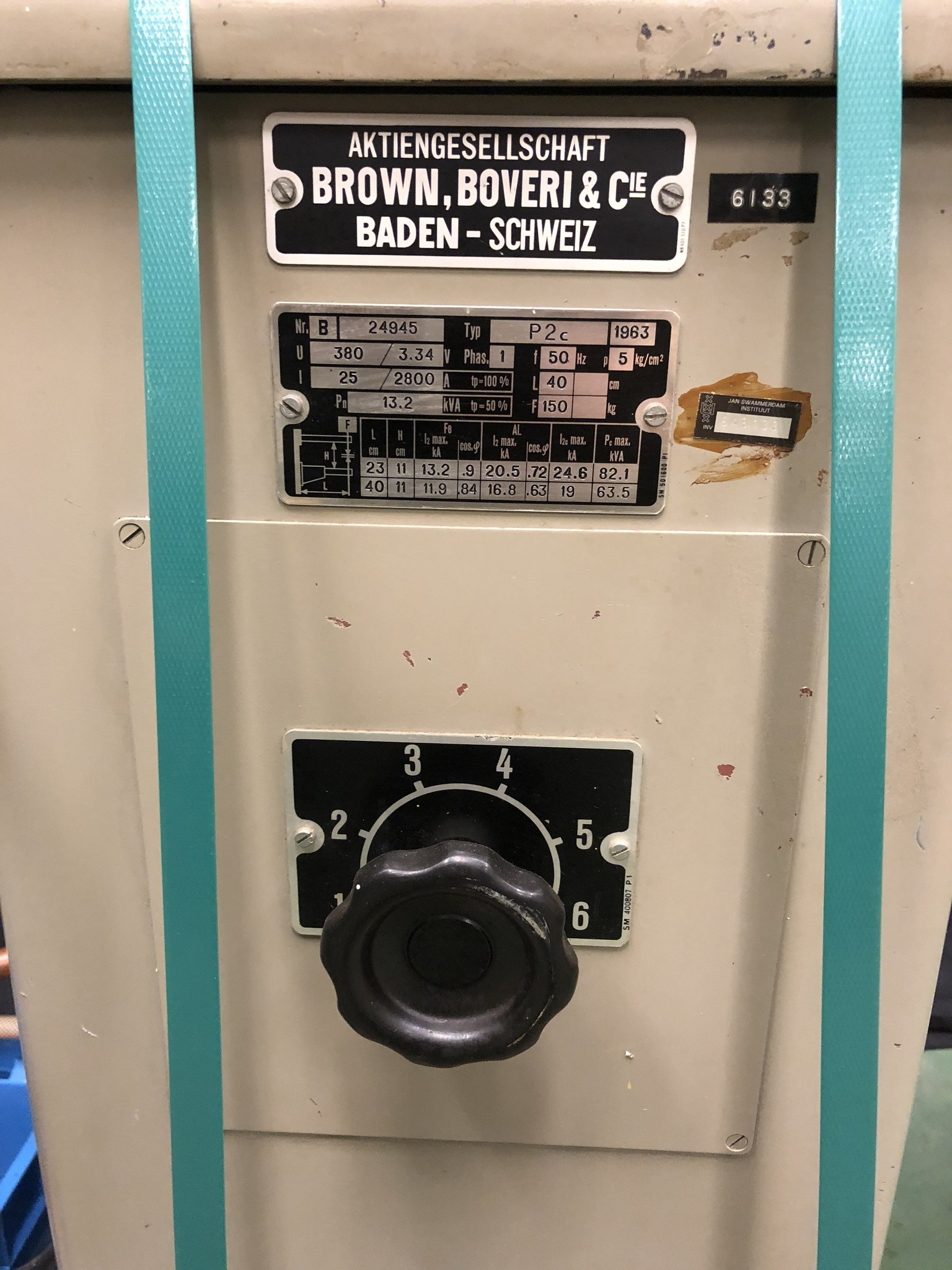 Brown Boveri Brown Boveri Puntlas machine