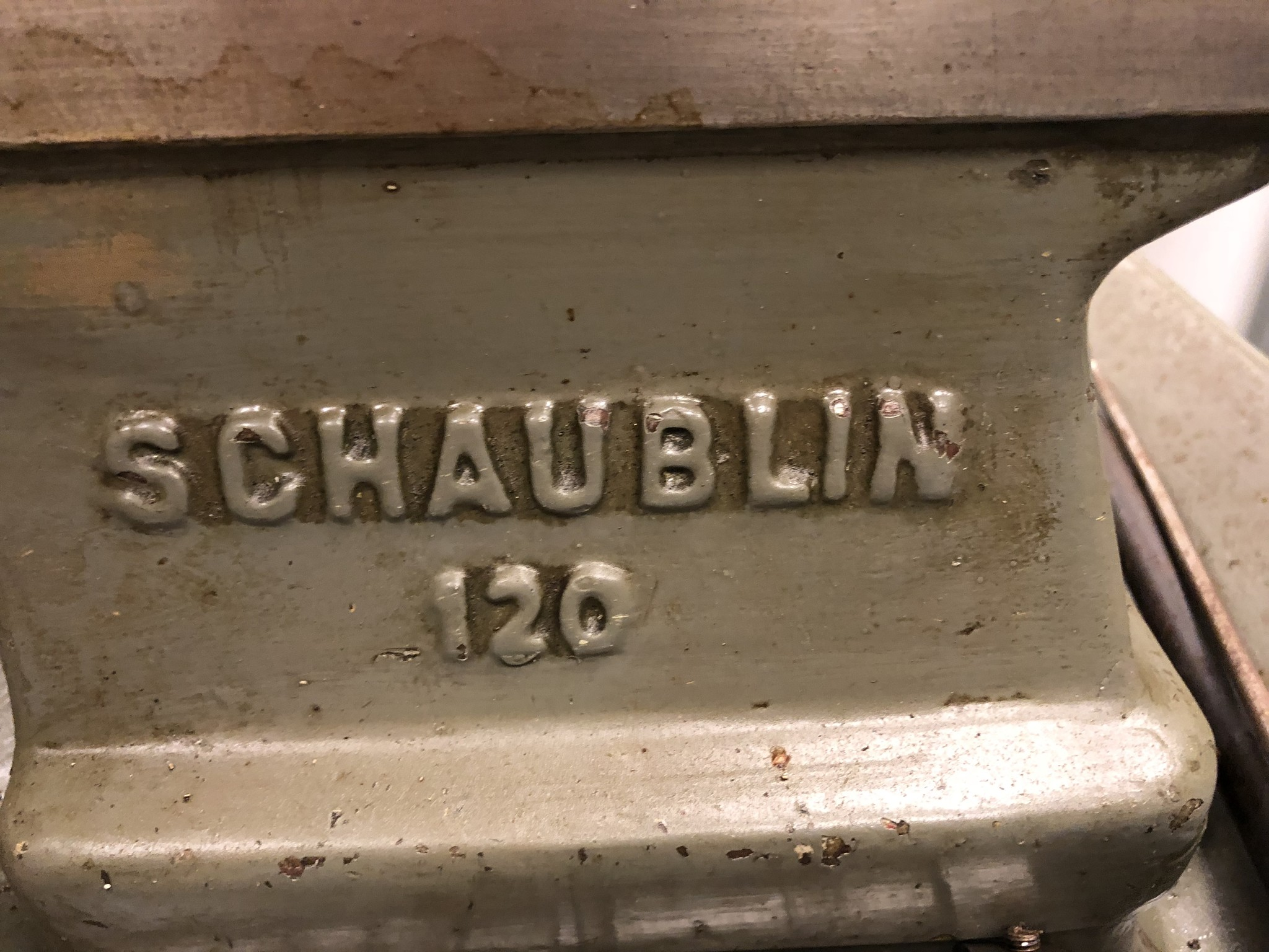 Schaublin Schaublin 120 draaibank