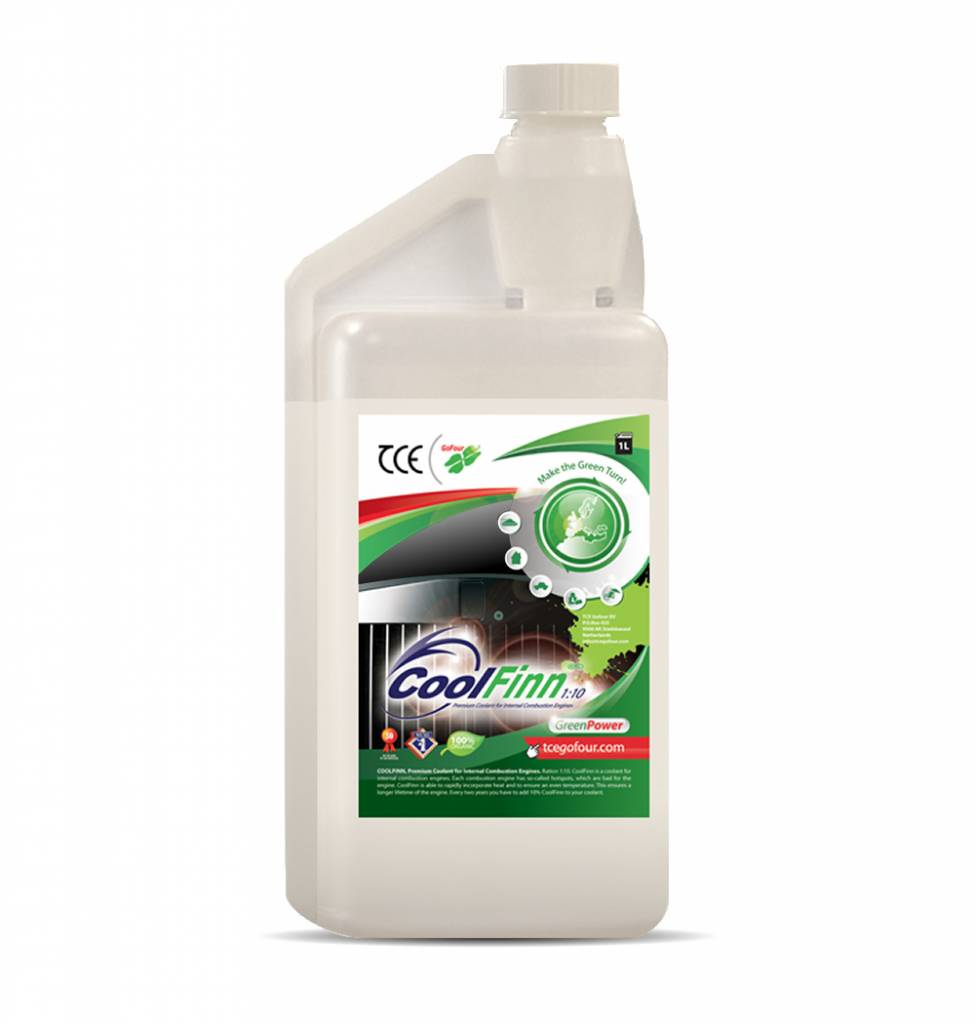 TCE Distribution 1 Liter CoolFinn koelvloeistof