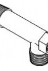 "Outdoor Boilers of Europe Messing T-stuk, 4"""