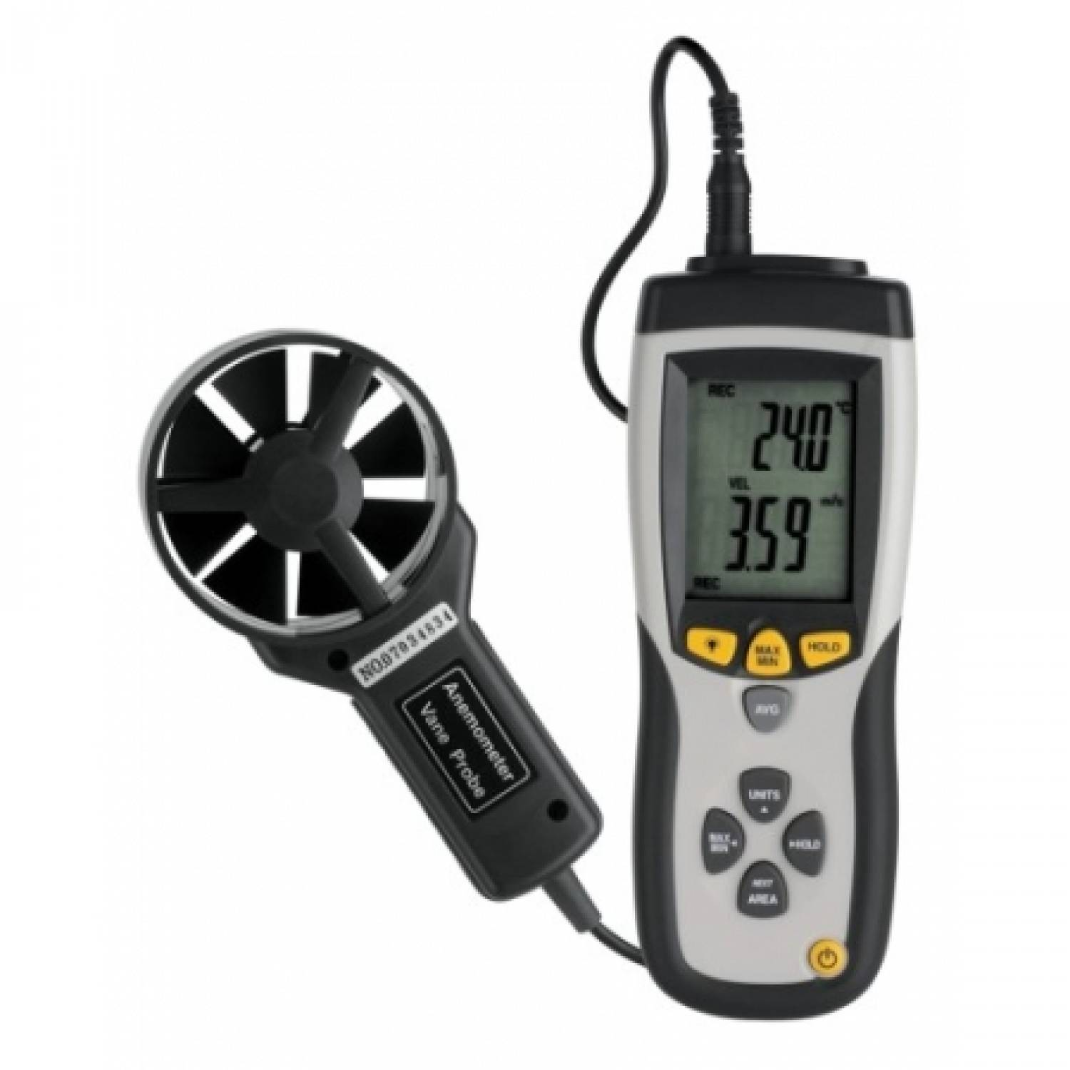 Outdoor Boilers of Europe Anemometer met temperatuur
