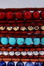 "Wickelarmband ""coloured"""