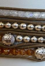 """Wickelarmband """"Buddha"""""""